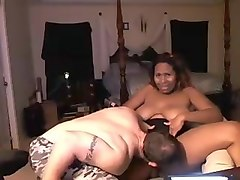 ebony bbw fucks white guy