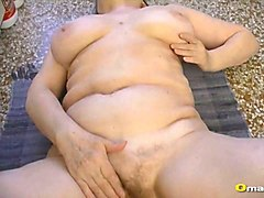 granny, hairy granny, old, pussy, mature