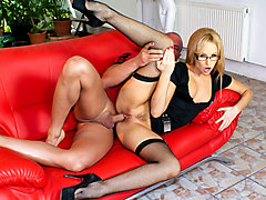 Aleska Diamond & Lauro Giotto in Bored Housewives #05 - MileHighMedia