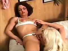 Horny Lingerie, Lesbian porn clip