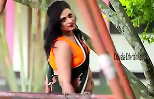 Beautiful Model saree photoshoot