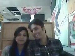 Bangladeshi boyfriend and girlfriend in restaurant (1)