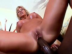 Incredible pornstar T.J. Powers in horny mature, interracial porn movie