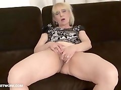 granny porn old woman takes facial cumshot gets fucked in her pussy