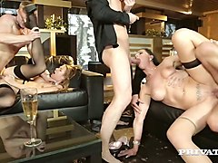 sensual harlot alexis crystal is taking part in hot and exciting group sex