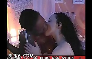 Smoking hot gangbang with loads of cum-hole bangings