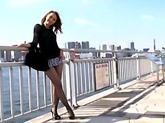 Incredible Japanese chick Ruka Ichinose in Exotic Lingerie, Outdoor JAV video