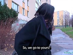 public agent sexy russians perfect body fucked for cash