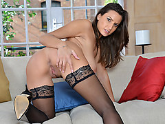 Sensual Jane in Black Tights - Anilos