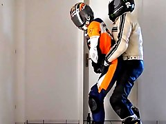 Leather biker 1