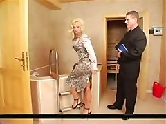 victoria - satin blouse sex