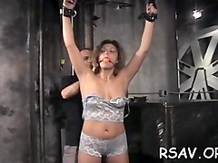 busty chick gets disciplined