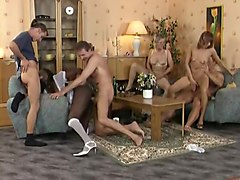 Amazing Black and Ebony, Group Sex xxx scene