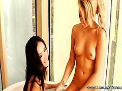 lesbian sisters explore their lust in beautiful 4k hd