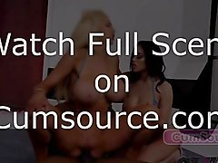 Nicolette Shea and Victoria June Fuck Like Their Lives Depend On It - Watch Full Scene on Cumsource.com