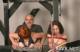 Large tits chicks extreme bondage amateur porn play