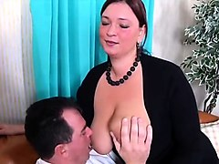 bbw german slut sucks and fucks