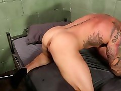 muscle stud pounding in jail