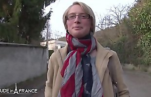 Nude in France - Diane - Gorgeous busty blonde hardly and deeply sodomized