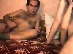 two whores get fucked in ffm sex movie