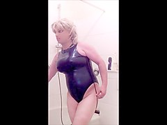 breast expansion dark blue realise swimsuite