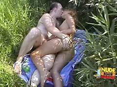 Exotic Homemade video with Nudism, Beach scenes
