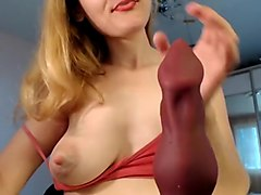 Private homemade couple, dildos/toys porn record with best Blondekatya