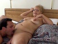 Crazy Blonde, BBW sex scene