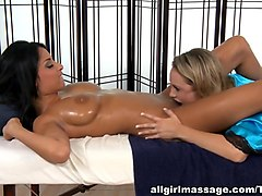 Best pornstars Anissa Kate, Charlee Monroe in Exotic Lesbian, HD porn clip