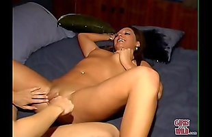GIRLS GONE WILD - Dana and Stephanie Go Down On Each Other With A Vibrator