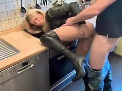 Quick Fuck In The Kitchen