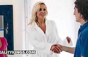 Moms Bang Teens - (Nina Elle, Sadie Pop, Brick Danger) - Milf Next Door - Reality Kings