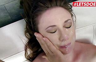 LETSDOEIT - Hot Russian Babe Eva Berger Gets Brutally Fucked
