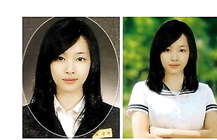 Sul Li Korean Girl F(x) K-Pop Idol Ahegao BByong gan Face
