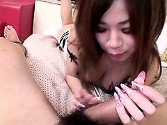 subtitled pov japanese gyaru gives uncensored blowjob