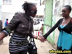 African Lesbians Taking Hot Shower