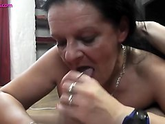 handjob, mature, matures, big, brunette