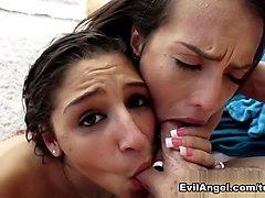 Best pornstars Kelsi Monroe, Mike Adriano, Abella Danger in Fabulous Latina, Anal sex video