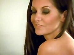 holy brunette fucking slut with dream tits