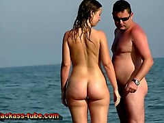 horny, scene, beach, nudism, amateur