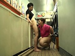 Chunky Japanese wife confesses her passion for hard meat