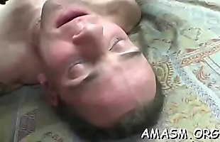 Woman smothering hubby in eager home porn video