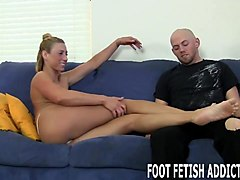worship my feet like a good little slave