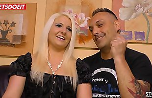 LETSDOEIT - German Chubby Wife Does A Magnificent Blowjob