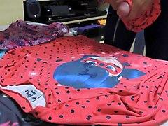 cum on blouse lycra miraculous ladybug
