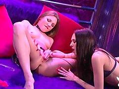 Best pornstars Aurora Snow, Audrey Hollander in Exotic Masturbation, Dildos/Toys sex video
