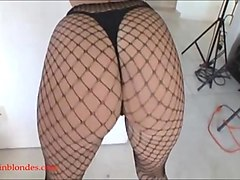 monster long fat huge black cock destorys huge boob blond wh
