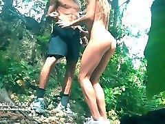 jungle sex with 2 cumshots! amateur couple leolulu