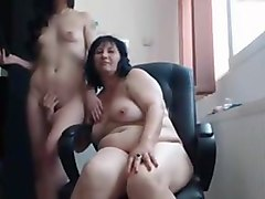 mom and daughter webcam