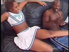 Ebony cheerleader Carmel